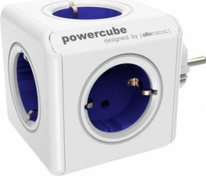 Priza Allocacoc Power Cube Original Blue Prize