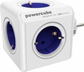 Priza Allocacoc Power Cube Original Blue