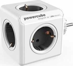 Priza Allocacoc Power Cube Original Grey