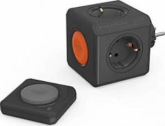 Priza Allocacoc Power Cube Original Remote Set Black Prize