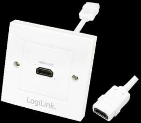 Priza HDMI Logilink AH0014 1 port mama Accesorii diverse pentru TV-uri