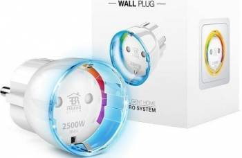 Priza inteligenta Fibaro Wall Plug tip Shuko Kit Smart Home si senzori