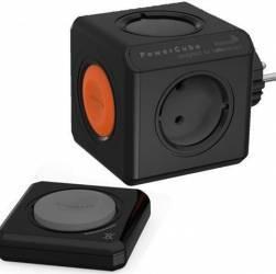 Priza PowerCube Allocacoc 1510BK Original Remote Black Prize