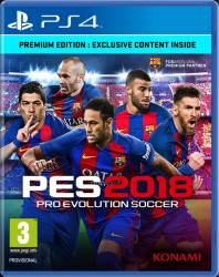 Pro Evolution Soccer 2018 Premium Edition - PS4 Jocuri