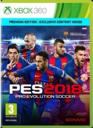 Pro Evolution Soccer 2018 Premium Edition - Xbox360 Jocuri