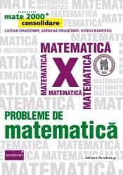 Probleme de matematica - Clasa a 10-a - Mate 2000+ Consolidare - L. Dragomir A. Dragomir O. Badescu