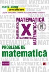 Probleme De Matematica Cls 10 Mate 2000+ Consolidare Ed.2014 - Lucian Dragomir Adriana Dragomir