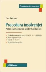 Procedura insolventei - Paul Pricope