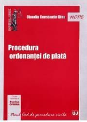 Procedura ordonantei de plata - Claudiu Constantin Dinu
