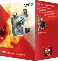 Procesor AMD A4 X2 4000 3.2GHz Socket FM2 HD 7480D Box Procesoare