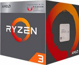 Procesor AMD Ryzen 3 2200G 3.5Ghz Socket AM4 Box Procesoare