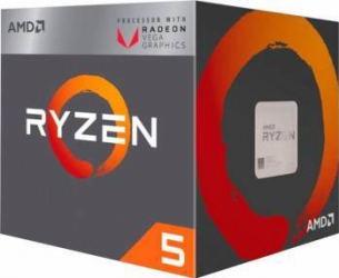 Procesor AMD Ryzen 5 2400G 3.6GHz Socket AM4 Box Procesoare