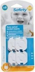 Produs siguranta acasa Safety 1St Euro Swivel Socket Inserts  Decoratiuni camera