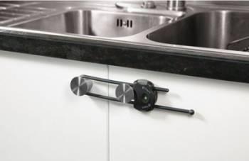 Produs siguranta acasa Safety 1St Grey Cabinet Slide Lock  Decoratiuni camera