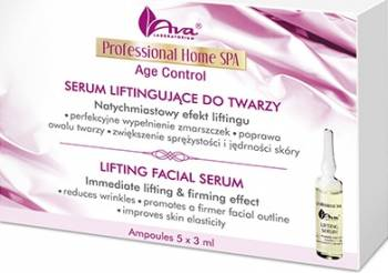 Ser Ava Laboratorium Professional Home Spa Fiole antirid - efect de lifting