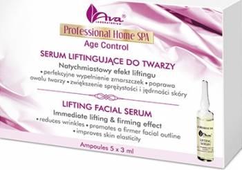 Ser Ava Laboratorium Professional Home Spa Fiole antirid - formula activa cu colagen si elastina