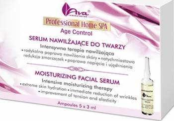 Ser Ava Laboratorium Professional Home Spa Fiole ser hidratant si antirid pe baza de acid hialuronic