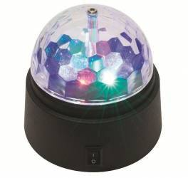 Proiector glob disco cu LED-uri multicolore 4.5V 631d071c99898