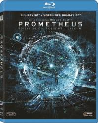 PROMETHEUS BluRay 3D 2012 3 discs