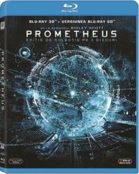PROMETHEUS BluRay 3D 2012 3 discs