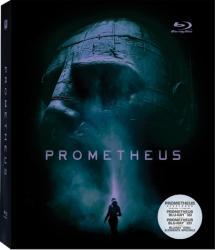 PROMETHEUS BluRay 3D 2012 Steel Book 3 discs
