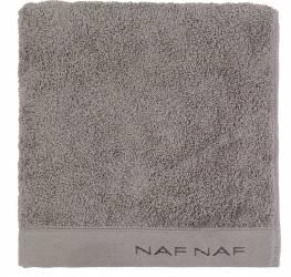 Prosop de baie 30x50cm Naf Naf Casual Colors Gri Inchis Prosoape