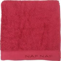 Prosop de baie 30x50cm Naf Naf Casual Colors Rosu Prosoape