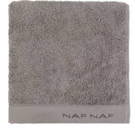 Prosop de baie 50x100cm Naf Naf Casual Colors Gri Inchis Prosoape