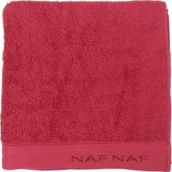Prosop de baie 50x100cm Naf Naf Casual Colors Rosu Prosoape