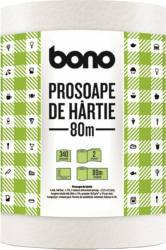 Prosop de hartie Bono 2 straturi 340 foi 80m Accesorii bucatarie