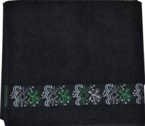Prosop Mally Maura 30 x 50 cm Negru Prosoape
