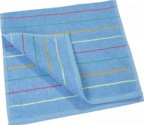 Prosop Mally Waves 30 x 50 cm Albastru Prosoape