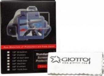 Protectie Ecran Giottos SP2535 pentru LCD 3.5 inch + Microfibra