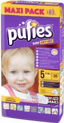Pufies Baby Art junior Nr.5 50buc Scutece si servetele