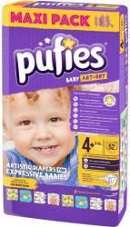 Pufies Baby Art maxi+ 52buc