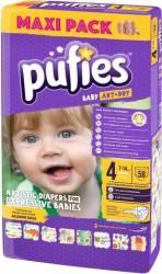 Pufies Baby Art maxi Nr.4 58buc Scutece si servetele