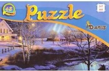 Puzzle - Colectia Anotimpuri 1 - 48 de piese 3-7 ani
