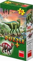 Puzzle - Dinozauri 60 piese + minifigurina