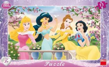 Puzzle - Princess 15 piese