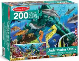 Puzzle 200 piese Adancurile marii - Melissa and Doug Puzzle si Lego
