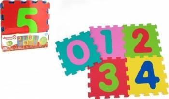 Puzzle burete pentru copii Globo Vitamina G Cifre 5 bucati Jucarii Bebelusi