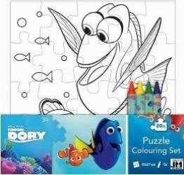 Puzzle de colorat Dory