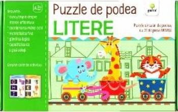 Puzzle de podea Litere