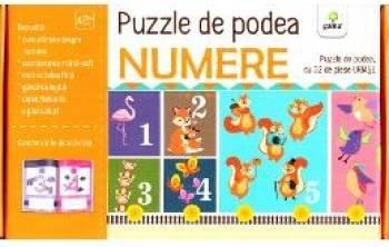 Puzzle de podea Numere
