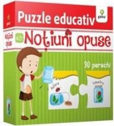 Puzzle educativ Notiuni opuse