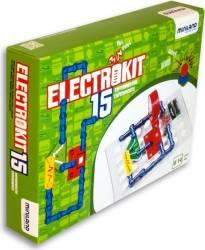 Puzzle electronic cu 15 experimente - Miniland Puzzle si Lego