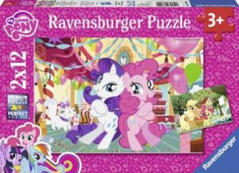 PUZZLE MICUL MEU PONEI 2x12 PIESE Ravensburger Puzzle