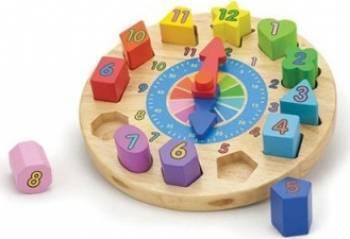 Puzzle New Classic Toys Clock Puzzle si Lego