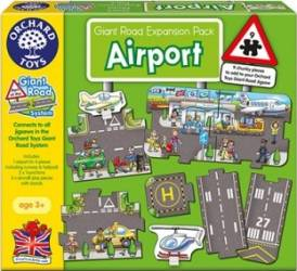 Puzzle Orchard Toys Airport Puzzle si Lego