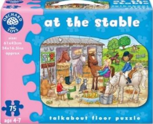Puzzle Orchard Toys At The Stable Puzzle si Lego